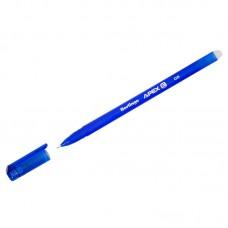 Ручка гелевая стираемая Berlingo Apex E, синяя, 0,5мм, трехгранная