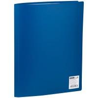 Папка А4 с 30 файлами OfficeSpace, 21мм, 400мкм, синяя