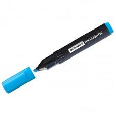 Текстовыделитель OfficeSpace голубой, 1-4мм