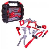 Набор инструментов в чемодане Помогаю Папе, 27 предметов