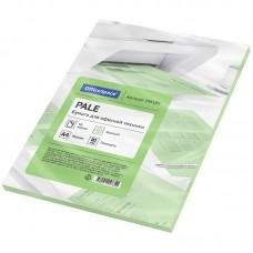 Бумага для принтера цветная OfficeSpace pale А4, 80г/м2, 50л. (зеленый)