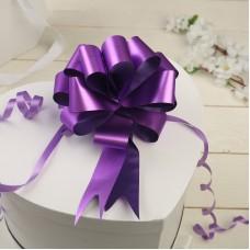 Бант-шар 12 см простой фиолетовый