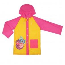 Дождевик со светоотражающим элементом, детский СМЕШАРИКИ Здорово!, размер M, рост 100-110 см