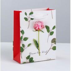 Пакет подар. (мал.) Только для тебя, ламинированный 12 × 15 × 5.5 см