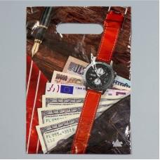 Пакет 20*30 см 30 мкм Мужской NEW, п/э с вырубной ручкой
