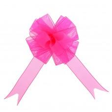 Бант-шар 12 см Лёгкость, цвет розовый