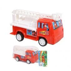 Машина пожарная, инерционная, 7,8х10,3х18,8см