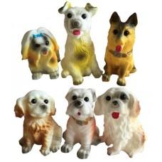 Набор собачек (ПВХ, сетка), 3 шт. в наборе, 2 вида в ассорт. 10.5*10*10.5см