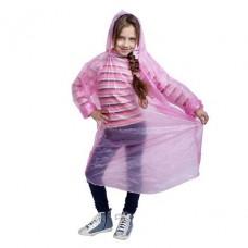 Дождевик детский унисекс Непромокайка, универсальный размер, цвет розовый
