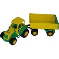 Трактор с прицепом №1 Мастер