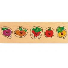 Деревянная рамка Овощи мал.