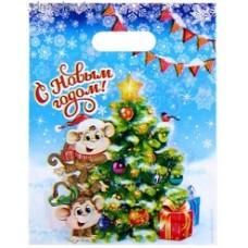 Пакет подар. п/э Весёлые обезьянки