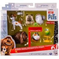 Набор 6 фигурок героев из м/ф Тайная жизнь домашних животных