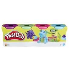 Play-Doh. Набор из 4 баночек, в ассортименте