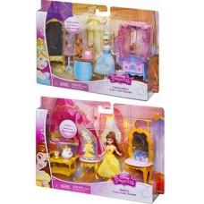 Disney princess. Кукла Принцессы Дисней Золушка/Бэлль в наборе с аксессуарами, в ассорт. 25*4,5*16,5см