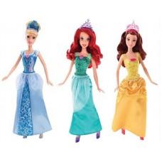 Кукла Золушка/Ариель/Белль, Disney Princess, в ассортименте, 32,5х11,5х6 см